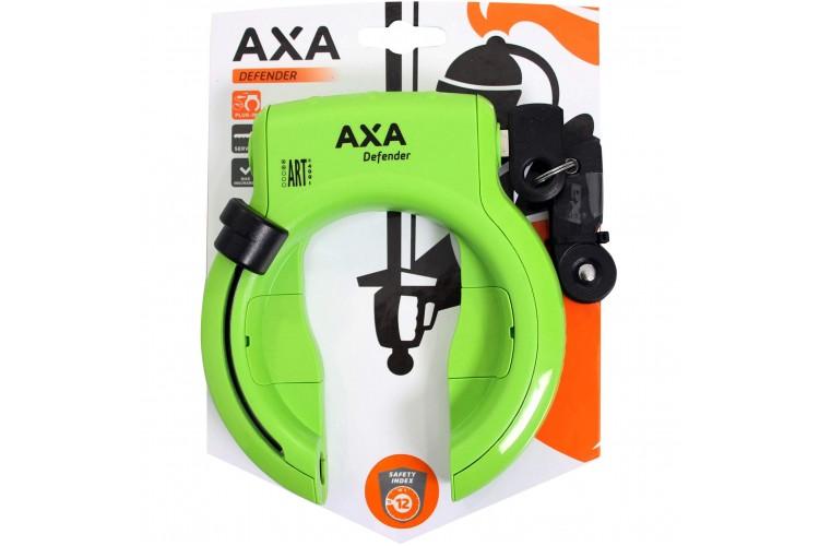 Axa ringslot Defender Groen