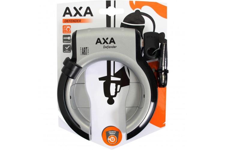 Axa ringslot Defender Zilver