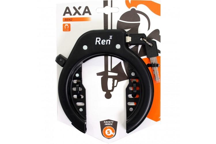 Axa ringslot Ren2 zwart