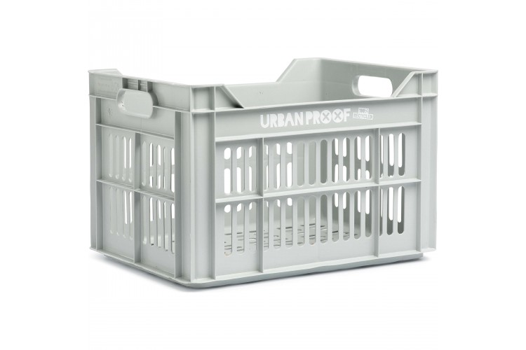 Urban Proof Fietskrat 30L Licht grijs