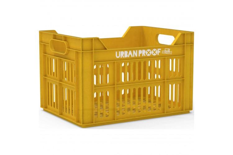 Urban Proof Fietskrat 30L Geel