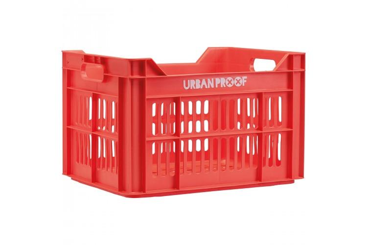 Urban Proof Fietskrat 30L Rood