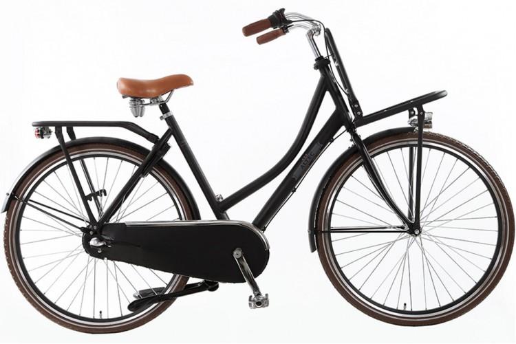 Altec Vintage N3 Transportfiets Mat-zwart 2016
