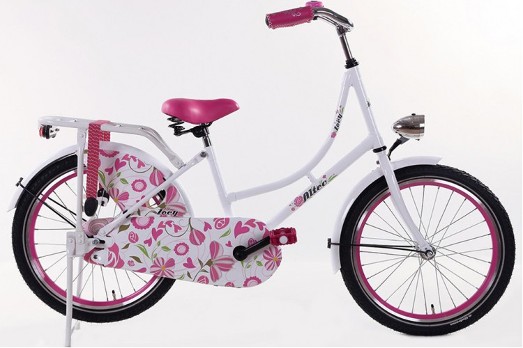 Altec Zoey Omafiets roze 20 Inch