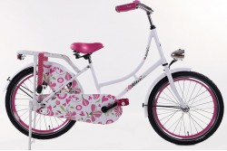 Altec Zoey Omafiets roze 22 Inch