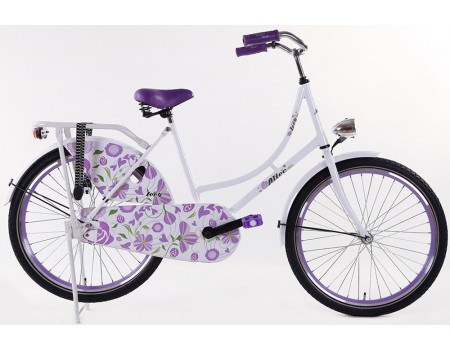 Altec Zoey Omafiets paars 24 Inch