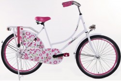 Altec Zoey Omafiets roze 24 Inch