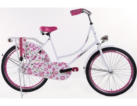 Altec Zoey Omafiets roze 24 Inch