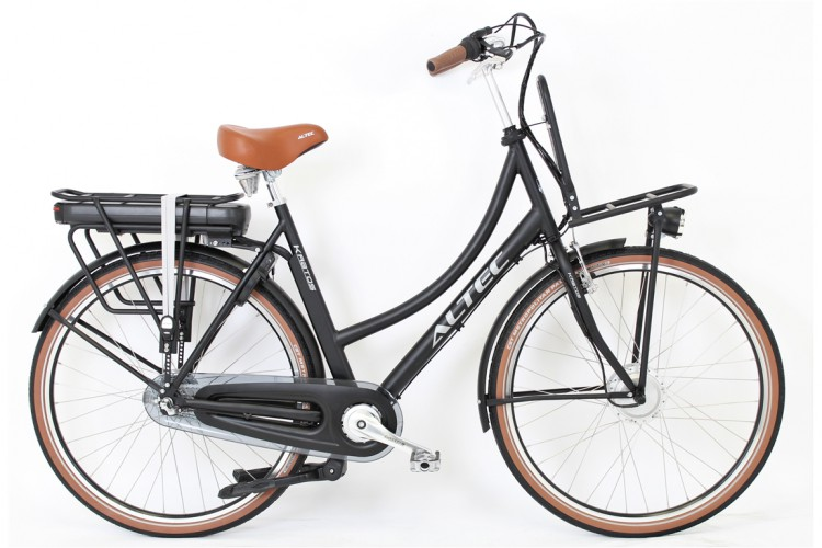 Altec E-bike Kratos N3 Mat-Zwart