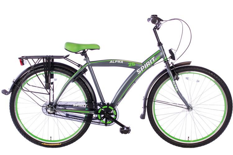 Spirit Alpha N3 Jongensfiets Groen 26 Inch