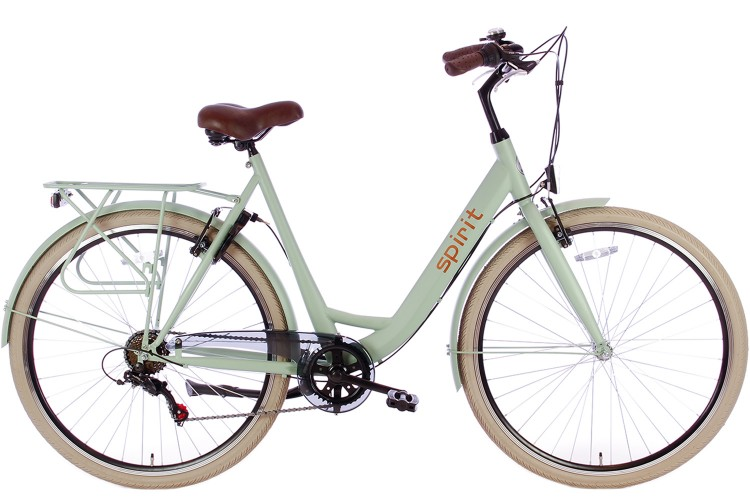 Spirit Bright Damesfiets 6-Speed Groen