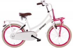 Spirit Cargo Wit-Roze Meisjesfiets 20 inch