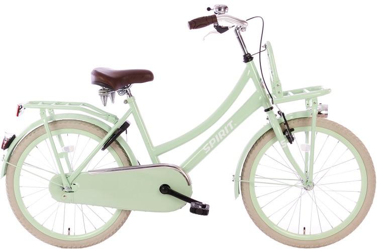 Spirit Cargo Meisjesfiets Groen 24 inch
