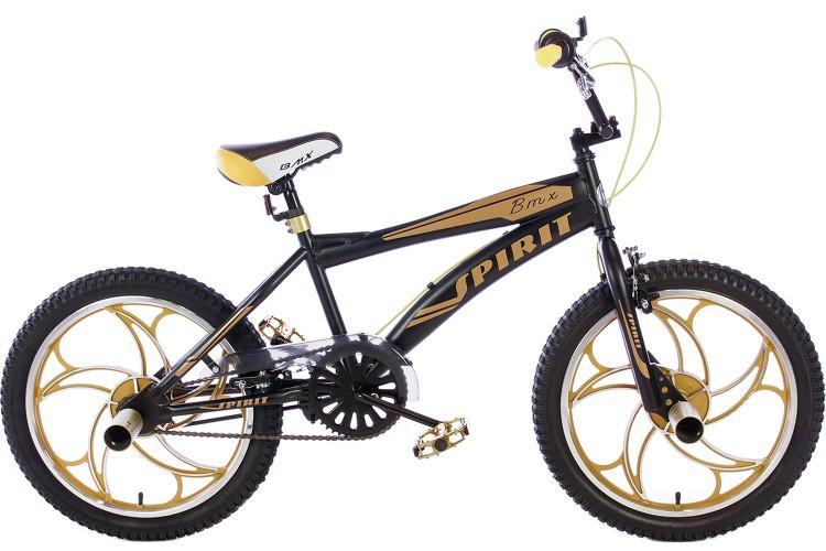 Tweedekans| Spirit BMX Crossfiets Cheetah Goud 20 inch
