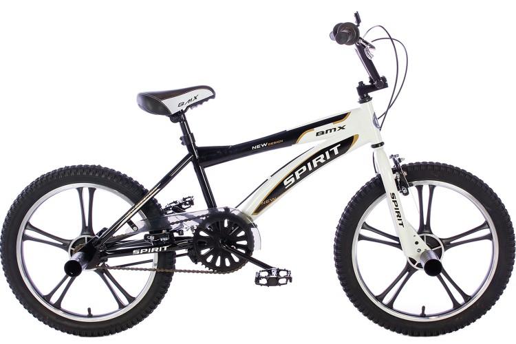 Spirit BMX Crossfiets Cheetah Zwart 20 inch