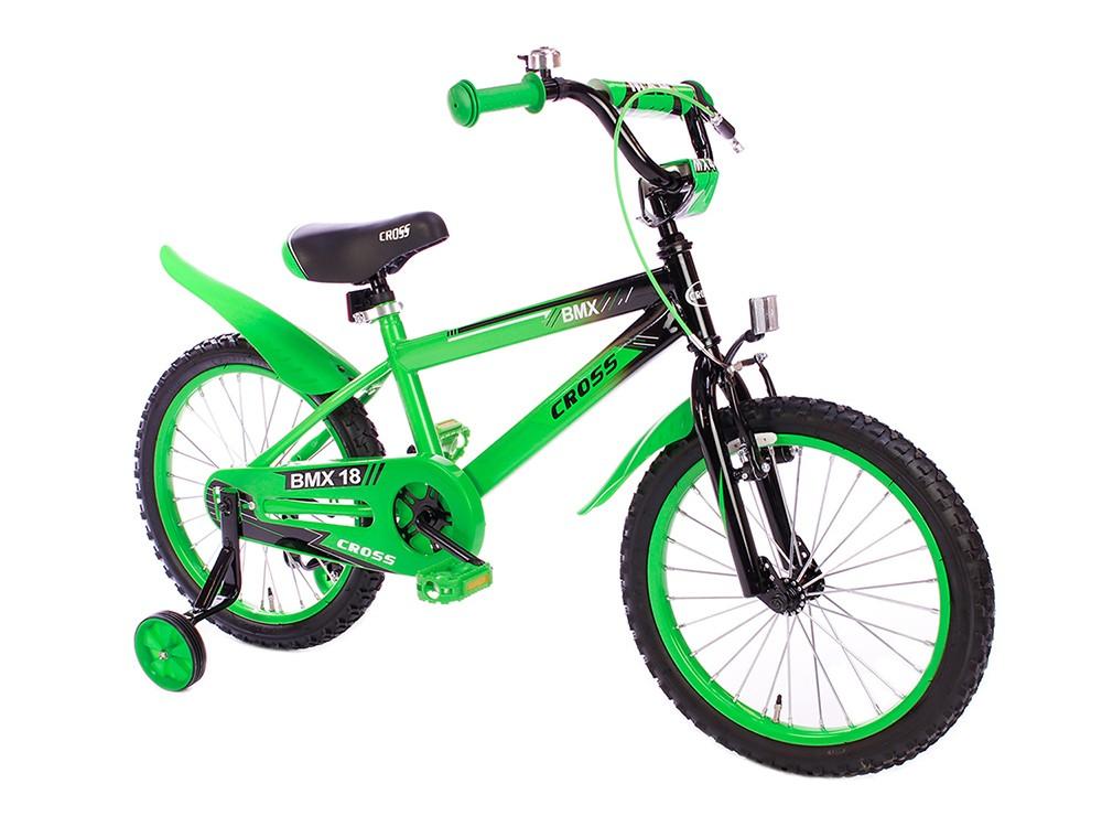 Spirit BMX Cross groen 18 Inch jongensfiets | City-Bikes.nl: www.city-bikes.nl/Spirit-BMX-Cross-groen-18-Inch