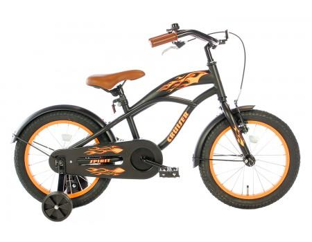 Spirit Cruiser Jongensfiets Oranje 16 Inch
