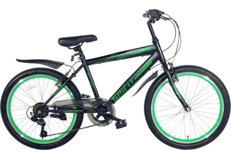 Spirit Delta 6-Speed Jongensfiets Groen 20 Inch