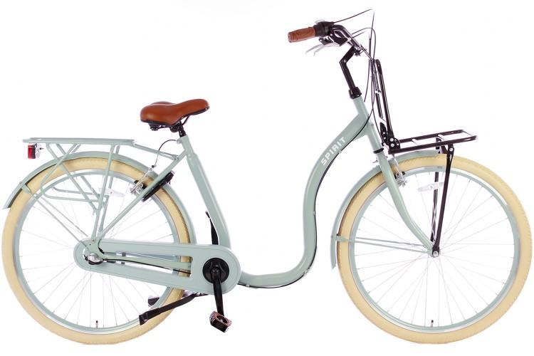 Spirit Easy N3 Plus Groen Lage instap fiets