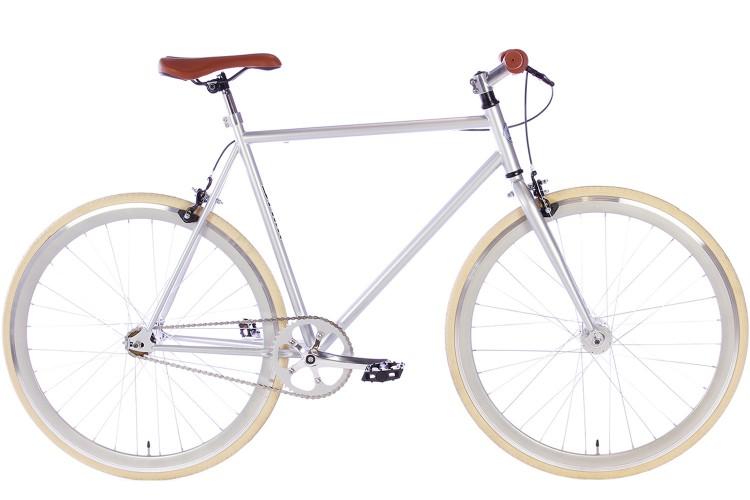Spirit Fixed Gear Bike Zilver