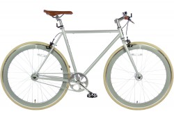 Spirit Fixed Gear Bike Grijs 2016