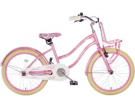Spirit Flora Meisjesfiets Roze 20 inch