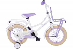 Spirit Omafiets Wit-Paars 12 inch