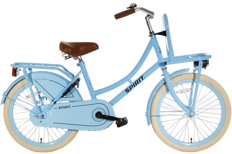 Spirit Omafiets Blauw Meisjesfiets 22 inch