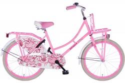 Spirit Omafiets Roze Meisjesfiets 22 inch