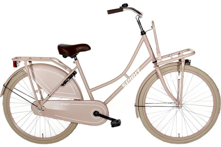 Spirit Omafiets Zalm-roze Meisjesfiets 24 inch