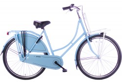 Spirit Omafiets Basic Plus Blauw-Wit 28 Inch