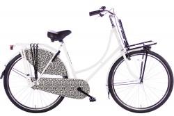 Spirit Omafiets Basic Plus Luipaard-Zwart 28 Inch