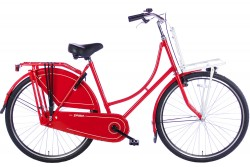 Spirit Omafiets Basic Plus Rood-Wit 28 Inch