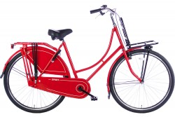 Spirit Omafiets Basic Plus Rood-Zwart 28 Inch
