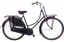 Spirit Omafiets Basic Plus Mat-zwart 28 Inch