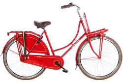Spirit Omafiets Rood 28 Inch 2017