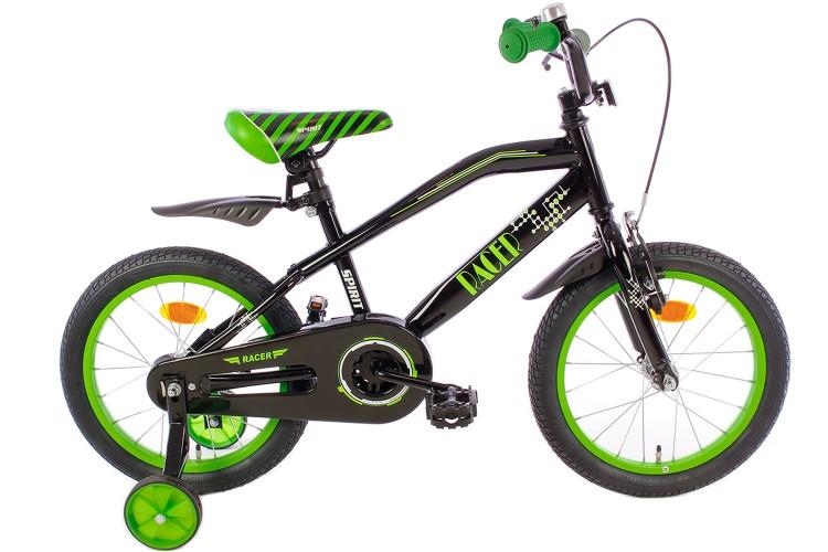 Spirit Racer Jongensfiets Groen 14 Inch