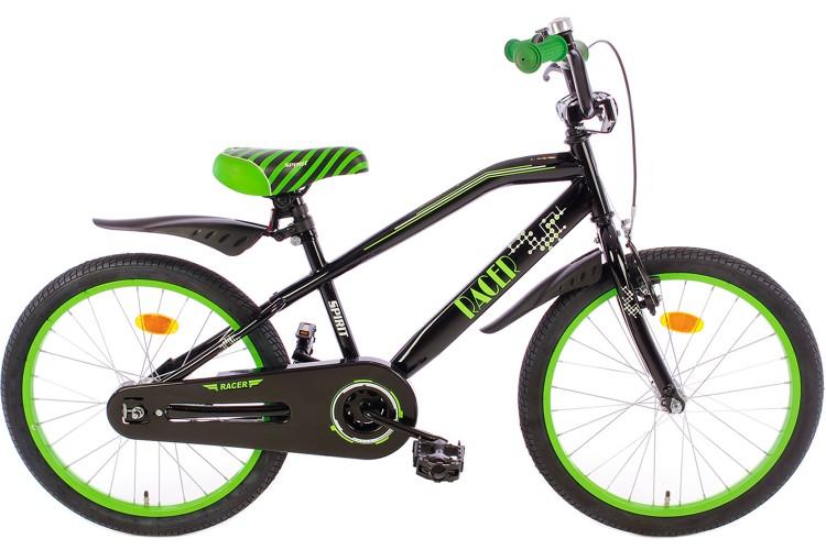 Spirit Racer Jongensfiets Groen 18 Inch