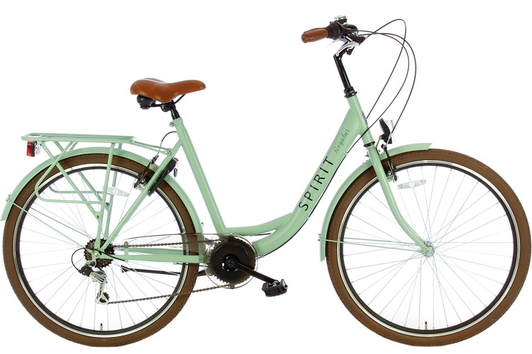 Spirit Regular Damesfiets 7-Speed Groen