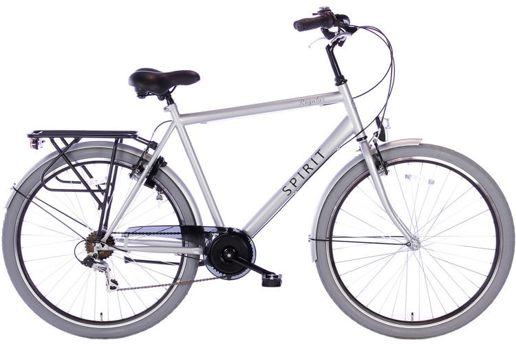 Spirit Regular Herenfiets 7-Speed Mat-Grijs