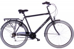 Spirit Regular Herenfiets 7-Speed Mat-Zwart