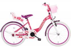 Spirit Sweetie Meisjesfiets Roze-Paars 20 inch