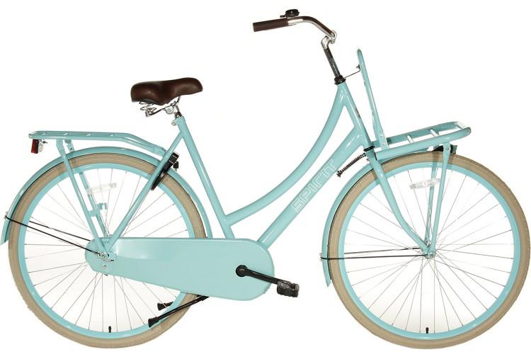 Spirit Transportfiets dames Turquoise