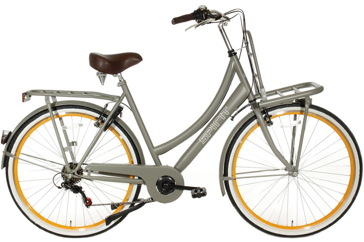 Spirit Transporter 6-Speed Damesfiets Taupe