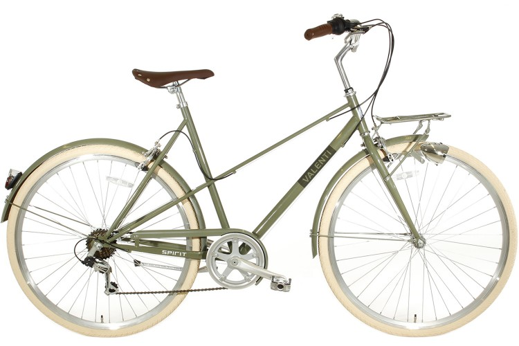 Spirit Valenti 6-Speed Damesfiets Groen