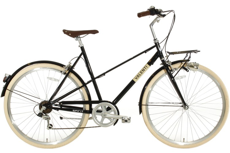 Tweedekans| Spirit Valenti 6-Speed Damesfiets Zwart