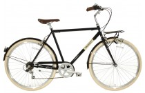 Spirit Valenti 6-Speed Herenfiets Zwart