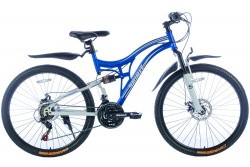 Spirit Mountain Blauw-Wit 26 Inch