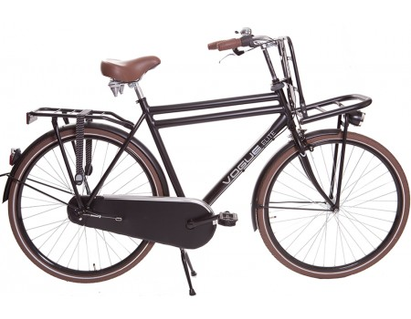 Vogue Elite Heren Transportfiets N3 Mat-zwart 2017