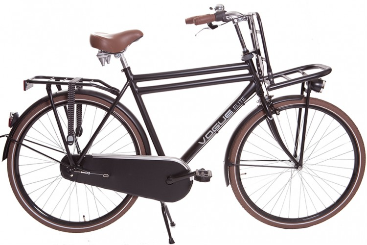 Vogue Elite Heren Transportfiets N3 Mat-zwart 2018